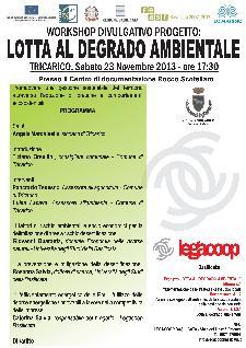 Lotta al degrado ambientale - 23 novembre 2013 - Matera