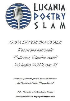 Lucania Poetry Slam - 26 luglio 2013 - Matera
