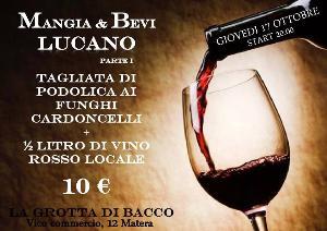 Mangia & Bevi Lucano  - Matera