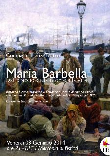 Maria Barbella - Dal Braccio della Morte alla Vita - 3 gennaio 2014 - Matera