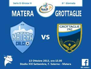 Matera vs Grottaglie - 13 ottobre 2013  (grafica di Tifomatera) - Matera