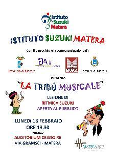 Metodologia Suzuki: La tribù musicale - 18 febbraio 2013 - Matera