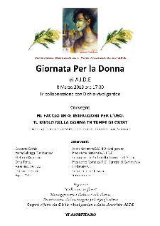 Mi faccio in 4: Istruzioni per l'uso. Il ruolo della donna in tempi di crisi - 8 marzo 2013 - Matera