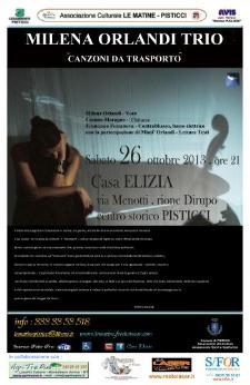 """Milena Orlandi – """"Canzoni da Trasporto"""" - 26 ottobre 2013 - Matera"""