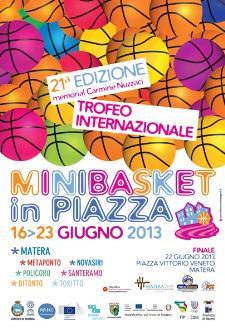 Minibasket in Piazza 2013  - Matera