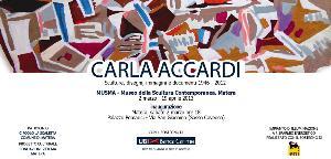 Mostra di Carla Accardi al MUSMA - Matera