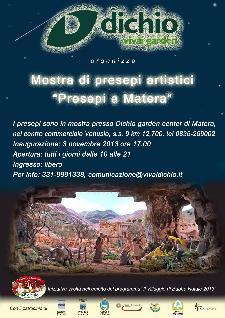 Mostra di presepi artistici - Presepi a Matera - Matera