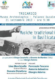 Musiche tradizionali in Basilicata - 21 settembre 2013 - Matera