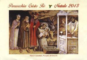 Natale 2013 alla Parrocchia Cristo Re  - Matera