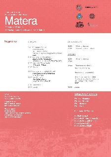 orkshop Internazionale per la città di Matera - dal 19 al 23 marzo 2013 - Matera