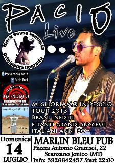Pacio Rock - 14 luglio 2013 - Matera