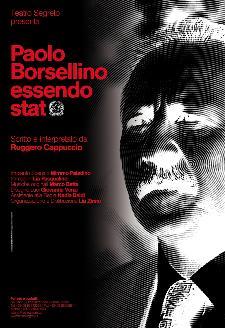 PAOLO BORSELLINO, ESSENDO STATO  - Matera