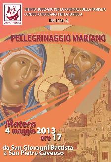 Pellegrinaggio mariano Arcidiocesi di Matera-Irsina - 4 maggio 2013 - Matera