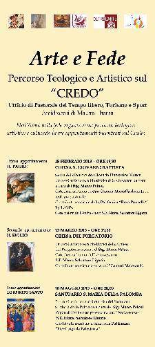 """Percorso Teologico e Artistico sul """"CREDO"""" - Matera"""
