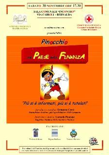 Pinocchio nel Paese della Finanza - 30 novembre 2013 - Matera