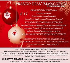 Pranzo dell'Immacolata - 8 dicembre 2013 - Matera