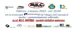 Presentazione Società Ciclistica BS.C. Matera - 1 marzo 2013 - Matera