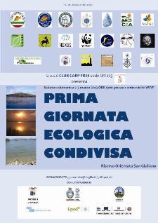 PRIMA GIORNATA ECOLOGICA CONDIVISA - 2 marzo 2013 - Matera