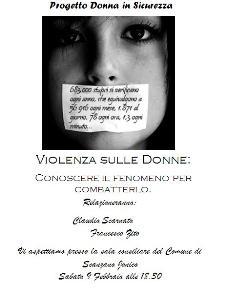 PROGETTO Donna IN Sicurezza - 9 febbraio 2013 - Matera