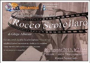 """Proiezione del film """"Rocco Scotellaro"""" - 16 agosto 2013 - Matera"""