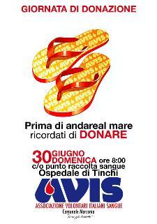 Prossima Giornata di Donazione - 30 giugno 2013 - Matera