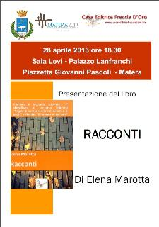 Racconti - 28 aprile 2013 - Matera