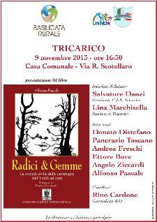 Radici & Gemme. La società civile delle campagne dall'Unità ad oggi - 9 novembre 2013 - Matera
