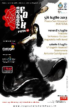 Ragnatela Folk 2013  - Matera