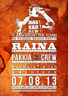 Rastafari hit the town  - 7 agosto 2013 - Matera