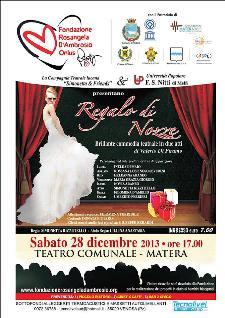 Regalo di Nozze - 28 dicembre 2013 - Matera