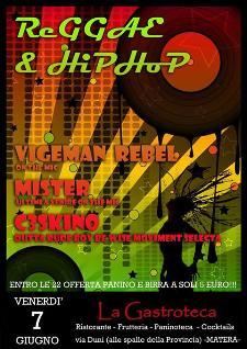 Reggae & hiphop - 7 giugno 2013 - Matera