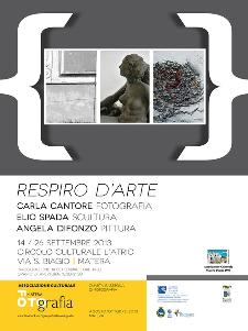 RESPIRO D' ARTE - MateraFotografia 2013 - Matera