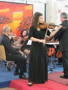 Roberta Lioy - Violinista del Conservatorio Materano - Matera