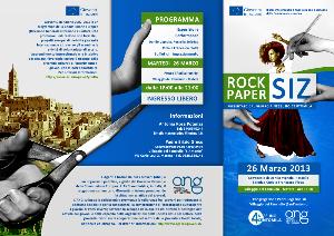 ROCK PAPER SIZ - Matera