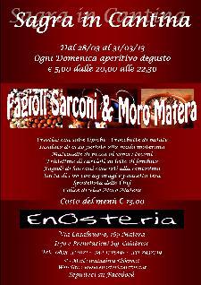 Sagra in Cantina  - Matera