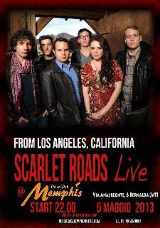 Scarlet Roads Live - 5 maggio 2013 - Matera
