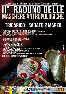 Secondo Raduno delle Maschere Antropologiche - 2 marzo 2013 - Matera
