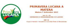 Seminario per organizzare la campagna elettorale 2013  - Matera