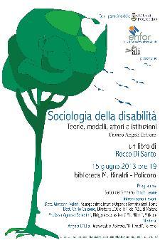 Sociologia della disabilità  - 15 giugno 2013 - Matera