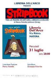 Stripbook - 31 luglio 2013 - Matera