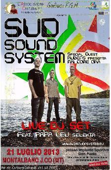 Sud Sound System - 21 luglio 2013 - Matera