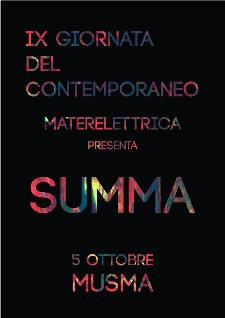 Summa - 5 ottobre 2013 - Matera
