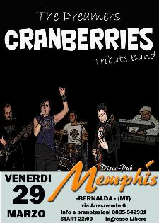 THE DREAMERS tribute to CRANBERRIES - 29 marzo 2013 - Matera