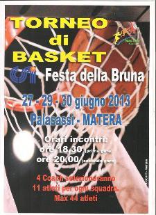 Torneo Basket - Festa della Bruna 2013  - Matera