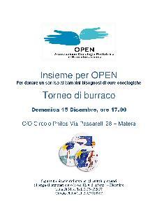 Torneo di burraco - 15 dicembre 2013 - Matera
