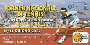 """Torneo Nazionale di Tennis Fit Open """"Città di Matera 2013""""  - Matera"""