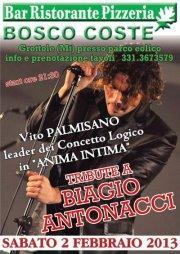 Tribute to Biagio Antonacci - 2 febbraio 2013 - Matera