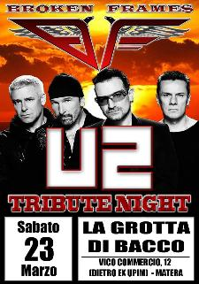 U2 Tribute Night - 23 marzo 2013 - Matera