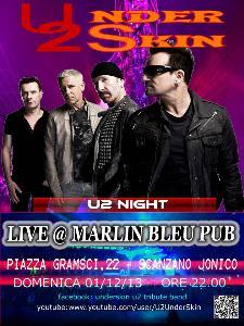 Underskin - U2 tribute - 1 dicembre 2013 - Matera