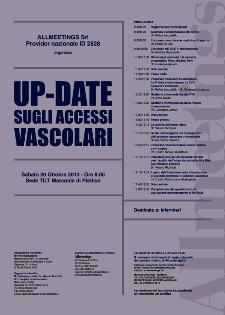 Up - Date sugli accessi vascolari - 26 ottobre 2013 - Matera